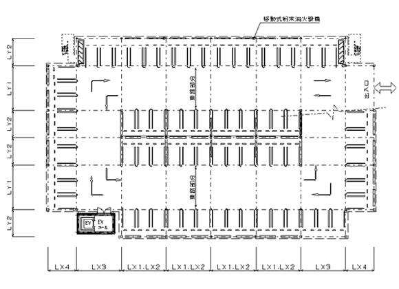 立体駐車場 平面図