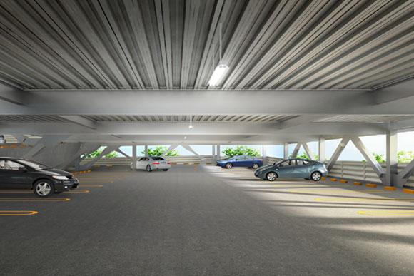 立体駐車場 ロングスパン